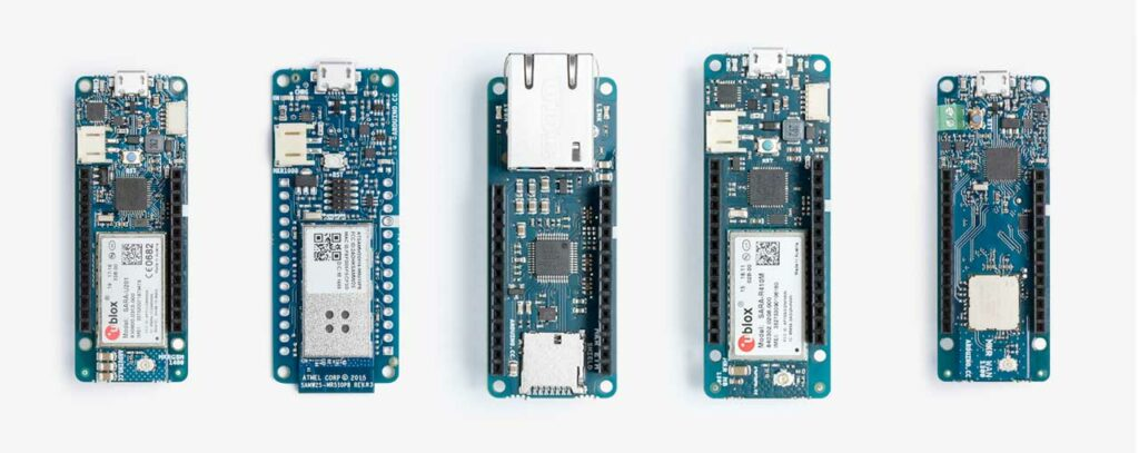 The Arduino MKR family boards